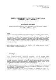 PRÁTICAS DE PROJECTO E CONSTRUTIVAS PARA A ... - Altercexa