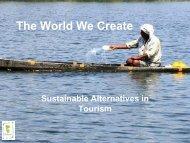 Towards Community Lead Tourism - Eine Welt Netz NRW
