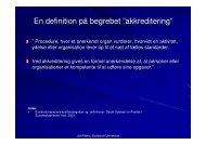 slides del 2 - Dansk Evalueringsselskab