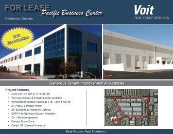 Pacfic Business ...Brochure(7).pdf - Voit Real Estate Services