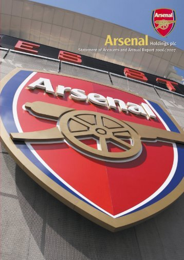 Statement of Accounts and Annual - Arsenal.com