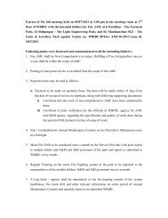 Extract of Pre bid meeting held on 09/07/2013 at 3.00 pm in the ...