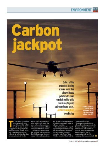 Carbon Jackpot - Transnational Institute
