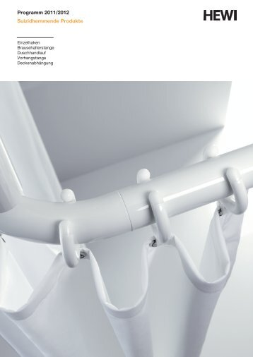 Programm 2011/2012 Suizidhemmende Produkte - HEWI