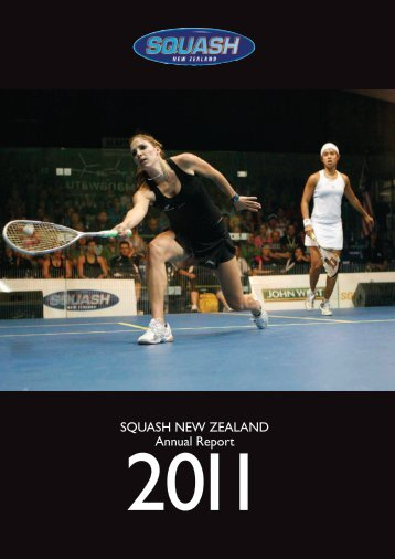 SQUASH NEW ZEALAND Annual Report - Devoy Squash & Fitness ...