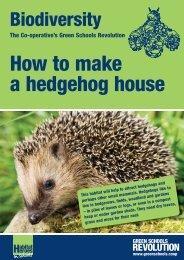 Hedgehog Houses - The Co-operative
