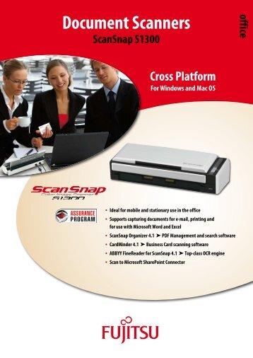 ScanSnap S1300 - Fujitsu