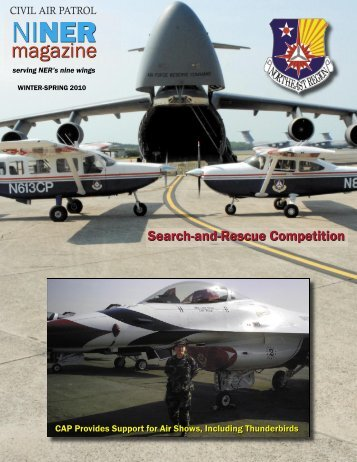 NINER Magazine   NH Wing Of The Civil Air Patrol