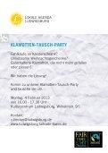 KLAMOTTEN- TAUSCH- PARTY - Lokale Agenda Ludwigsburg - Seite 2