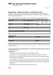 Skjema for å klage på fastsetjing av karakter (pdf)