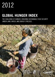 Global Hunger Index - Welthungerhilfe