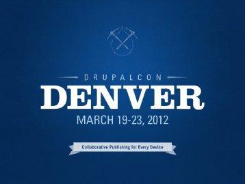 Field Translation - DrupalCon Denver