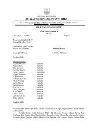 Domes sēdes Nr.12. protokols - Jelgavas rajona padome