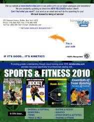 **kinetic sports newsletter US - Kinetic Video