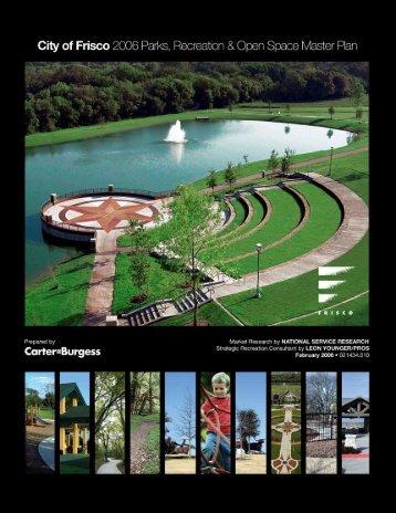 Parks Master Plan - FriscoFun.org