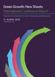 Green Growth: New Shoots International Conference ... - MP4-Interreg