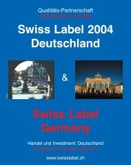 SWISS LABEL GERMANY 09-04 - Com Consulting SA
