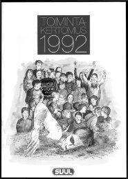 SVUL:n toimihenkilöt 1992