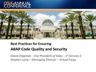 ABAP Code Quality and Security - Virtual Forge