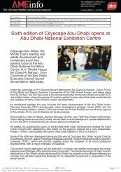 Sixth edition of Cityscape Abu Dhabi opens at Abu ... - IIR Middle East