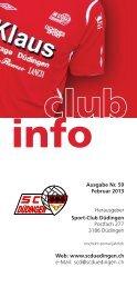 CLUB-INFO - SC Düdingen