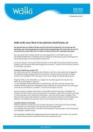 Walki weiht neues Werk in der polnischen Stadt Breslau ein