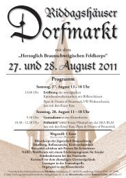 27. und 28. August 2011 - ZeitOrte