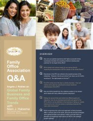 Q&A - the Family Office Association