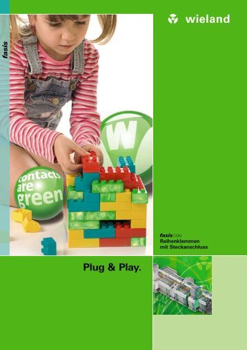 Plug & Play. - Wieland Electric