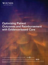 Optimizing Patient Outcomes and Reimbursement with ... - Wounds