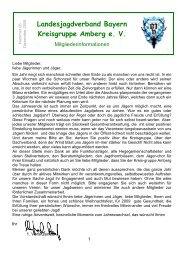 Landesjagdverband Bayern Kreisgruppe Amberg e.V.
