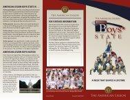 Boys state Girls state - American Legion
