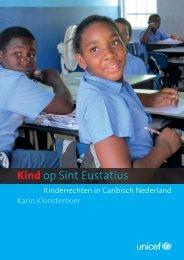 Onderzoeksrapport Kind op Sint Eustatius - Unicef
