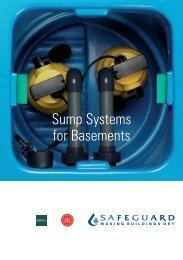 Basement Sump Systems - Safeguard Europe Ltd.