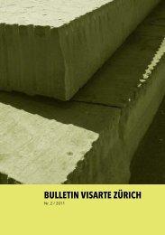 Bulletin 2011/02 - visarte zürich