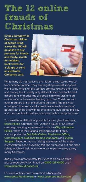 Essex leaflet