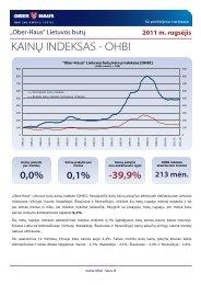 OHBI apžvalga 2011 m. rugsėjo mėn. - Ober-Haus