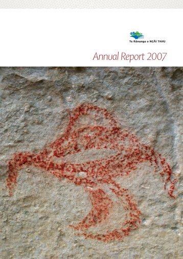 Annual Report 2007 - Ngai Tahu