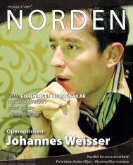 Johannes Weisser - Forsiden - Foreningen Norden