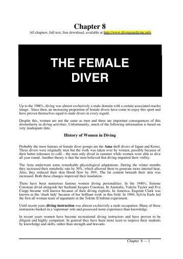 Ch 08 SM12.pdf - Diving Medicine for SCUBA Divers