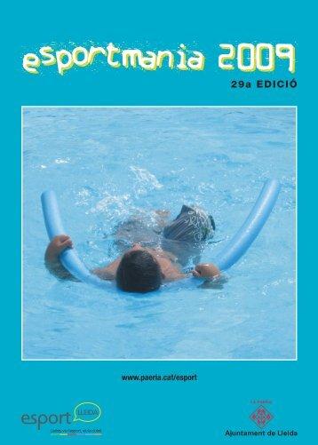 Programa d'Esportmania - Ajuntament de Lleida