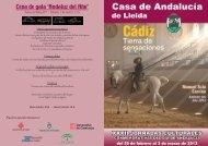 Cena de gala 'Andaluz del Año' - Ajuntament de Lleida