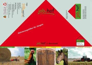 Aktivierungshilfen für Jüngere - job.sozial gbR