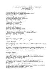 Évnyitó2012 - Sárospataki Református Teológiai Akadémia