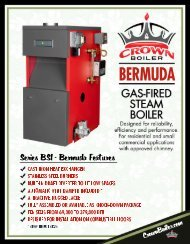 Download Crown Boiler Bermuda (BSI) Literature - LSKair
