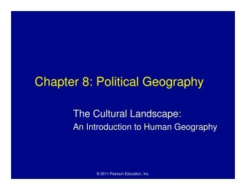 Chapter 8: Political Geography - Mona Shores Blogs