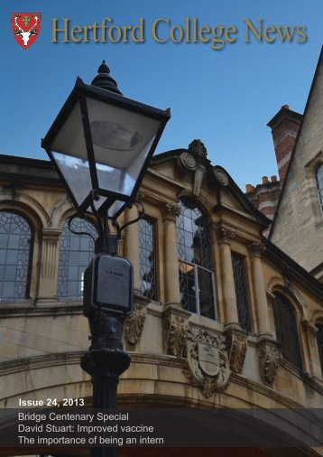 Issue 24 - Hertford College - University of Oxford