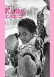 kuba 3_03.pdf - Svensk-Kubanska Föreningen
