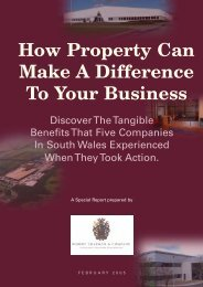 How Property Can Make A Difference To Your Business - Robert ...