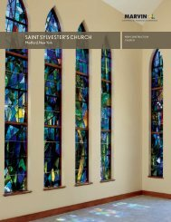 SAINT SYLVESTER'S CHURCH - Marvin Windows and Doors